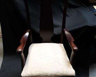 Single dining armchair