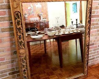 #14 - Large Rectangular Gilt Mirror #1