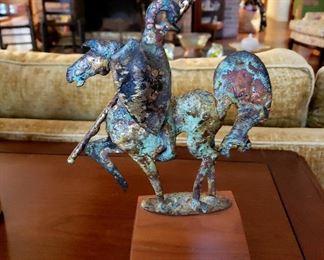 #23 - Bill Lett / Creative Metals Knight Sculpture - Corryton, TN