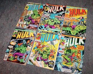 #45 - The Incredible Hulk Comic Books - Lot of 6