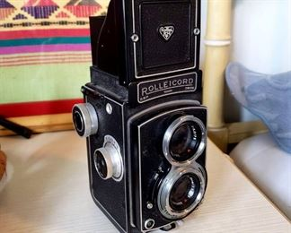 #50 - Rolleicord III Camera