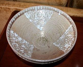 #61 - Jugtown NC Pottery Buzzard Bowl