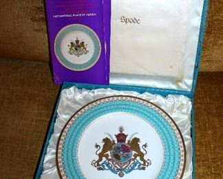 #63 - 1971 Spode Limited Edition Imperial Plate of Persia