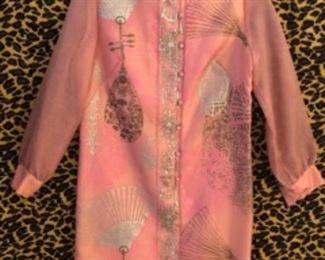 Shaheen Vintage Print Dress
