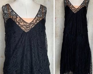 Beautiful 1920s 2pc lace dress