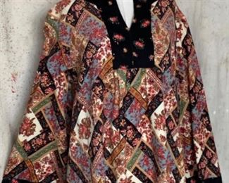 1970s Magical Paisley Caftan