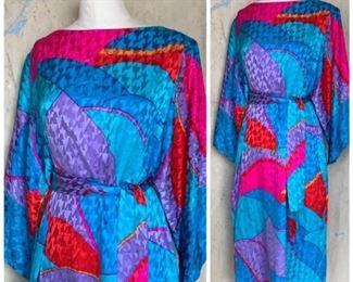 Silk textured 1980s beauty