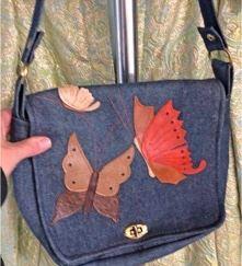 Trippy Hippy Butterfly Bag