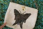 Vintage Butterfly Bag with Shoulder Strap