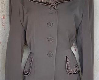 1940s Beaded Jacket