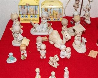 Precious Moments Figurines and Christmas Ornaments