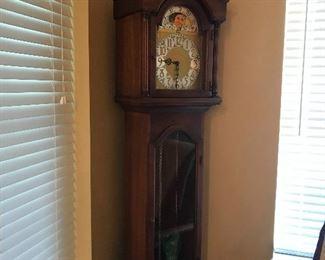 Colonial Grandfather Clock