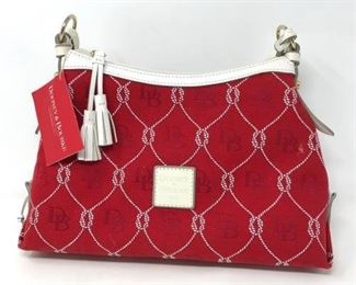 106 Dooney & Bourke Red & White https://ctbids.com/#!/description/share/288521