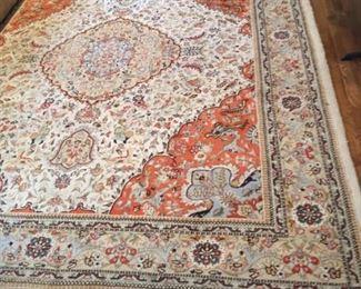 Very nice oriental rug.