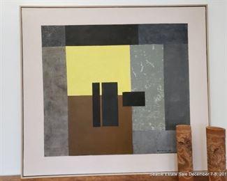 Paul Horiuchi Collage