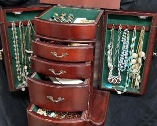 Armoire Full of Jewelry