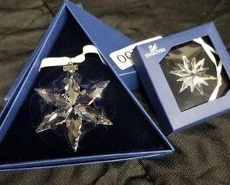 Swarovski Snowflake Ornaments