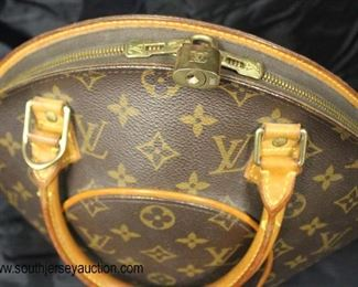 "Authentic ""Louis Vuitton"" Ellipse Monogram SD 0040 ""Bowler"" Purse  Auction Estimate $500-$1000 – Located Glassware"