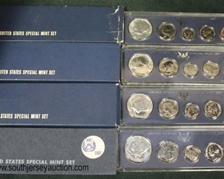 United States Special Mint Sets (1 –1967 & 3–1966)  Auction Estimate $5-$10 each – Located Glassware