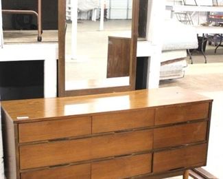 6 Piece Mid Century Modern Danish Walnut Bedroom Set with Full Size Bed  Auction Estimate $400-$800 – Located Inside