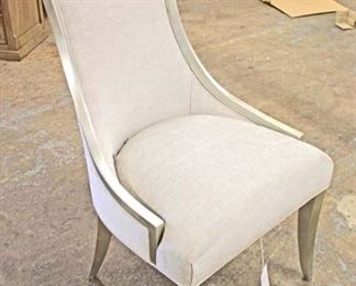 NEW   'Set of 4'    Decorator Contemporary Upholstered Decorator Chairs  Auction Estimate $100-$400 – Located Inside