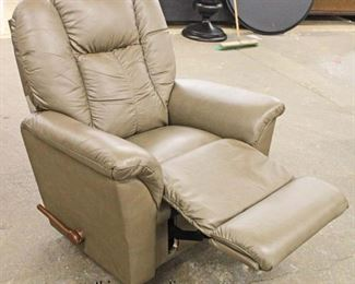 "NEW ""La Z Boy"" Leather Recliner  Auction Estimate $300-$600 – Located Inside"