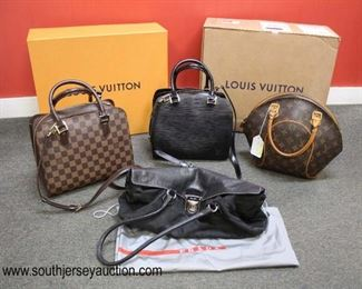 Great Selection of Gently Used Good Shape Name Brand Purses of the Name Brand purses of Louis Vuitton and PRADA