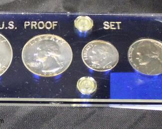 U.S. Proof Set 1962 Silver  Auction Estimate $10-$20 – Located Glassware