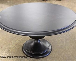 "NEW Contemporary 54"" Round Single Pedestal Breakfast Table  Auction Estimate $100-$400 – Located Inside"