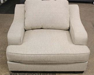 NEW Contemporary Upholstered Club Chair  Auction Estimate $50-$100 – Located Inside