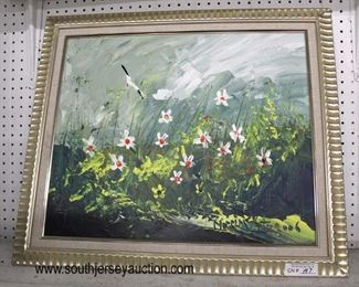 Selection of Artwork including Prints, Paintings, Oil on Canvas', Oil on Boards, and more  Auction Estimate $20-$200 – Located Glassware