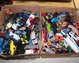 "Selection of Box Lots of ""Hot Wheels"" and ""Match Box"" Cars and others  Auction Estimate $10-$50 each – Located Glassware"