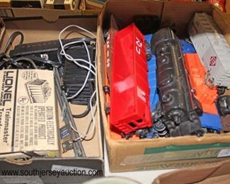 "Box Lots of ""Lionel"" Trains and Accessories  Auction Estimate $20-$50 – Located Glassware"