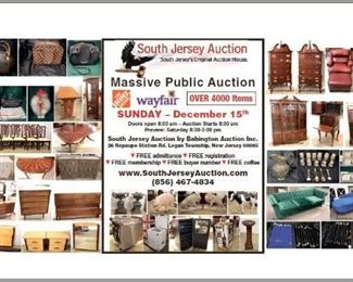 December 15 auction