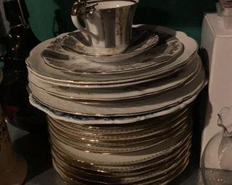 Assorted porcelain