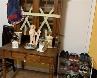Many vintage and some antique items.  Shoes!  Men's size 12 women's size 7