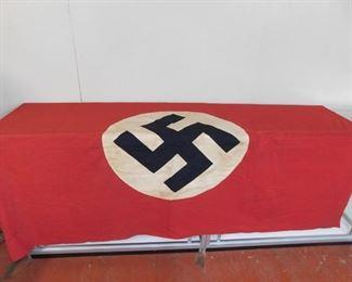 Large Original World War Two German/Nazi Flag