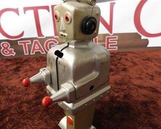 Vintage Strenco Key Wind German Made Robot(No Key)