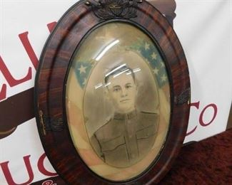 World War One Framed Soldier Photograph