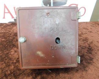 Old Bakelite Alarm Box