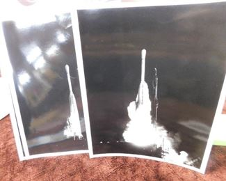 Grouping of Original NASA Press Photos