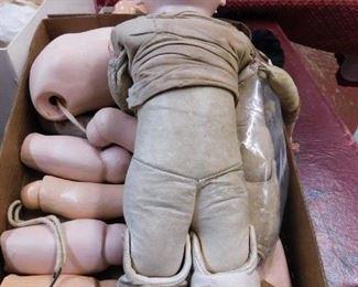 Antique Doll Parts