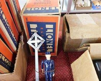 Lionel 1045 Operating Watchman in Original Box