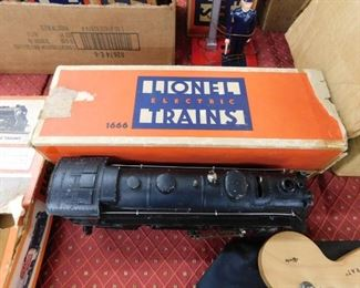 Lionel Train Set in Original Boxes