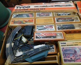 Tyco HO Train Set