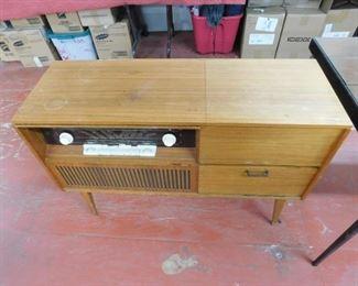 Loewe Opta Cabinet Stereo/Record Player Combo(Mid-century)