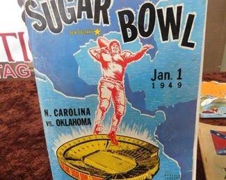 1949 Sugar Bowl Program