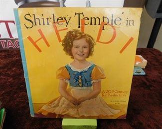 "Shirley Temple ""Heidi"" Book"