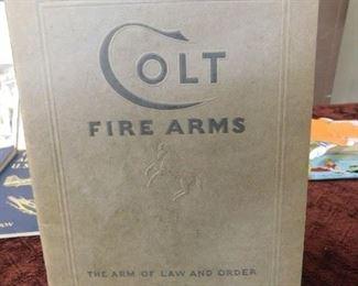 1934 Colt Fire Arms Catalog