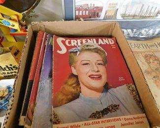 Vintage Movie Magazines